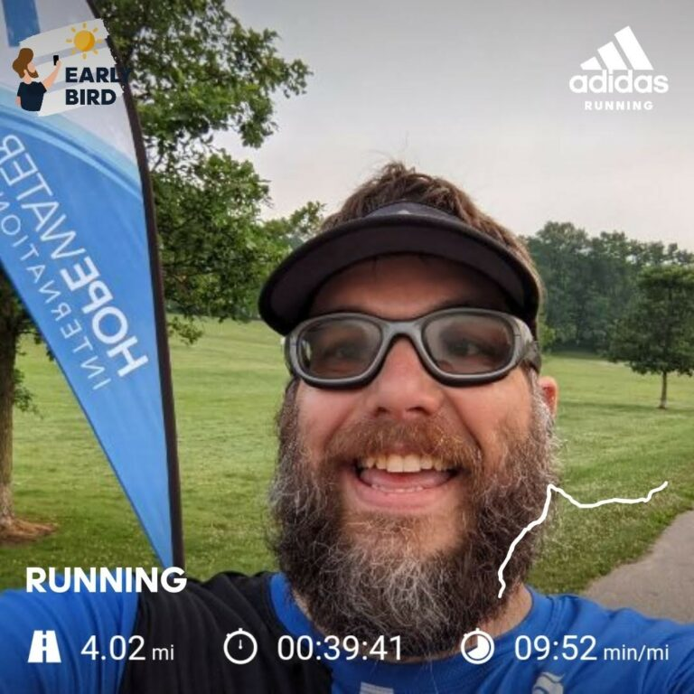 Early Morning Saturday 4 Mile Training Run
