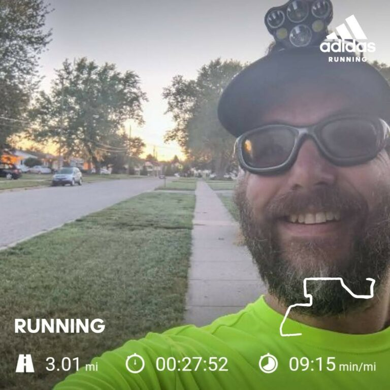 Back Home For a Cool Tuesday Morning 3 Miles