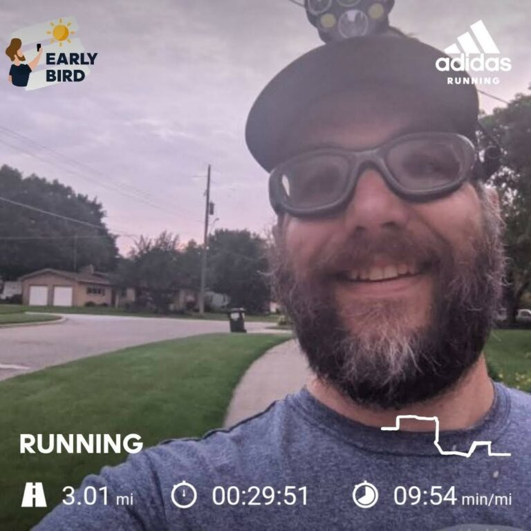 Starting Another Week With An Early Morning 3 Miles