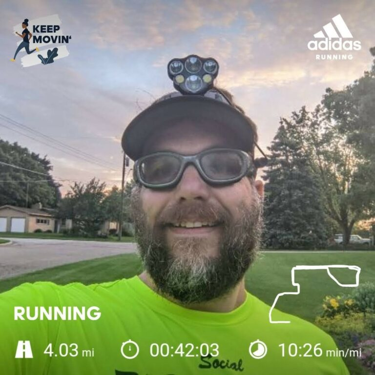 Battling the Humidity on a 4 Mile Interval Run