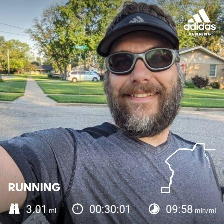 A Little Later Thursday 3 Mile Run