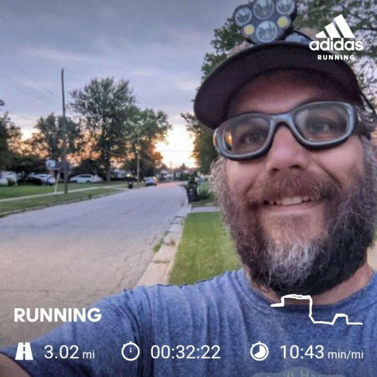 A Tough Monday Training Run, But I Got It Done