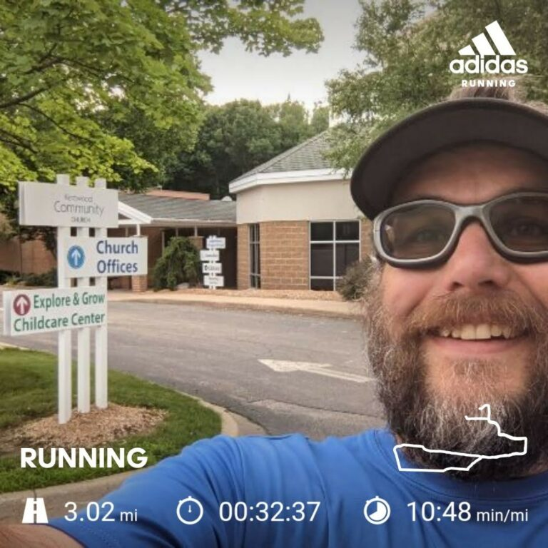 Getting in a Thursday 3 Miles at KCC