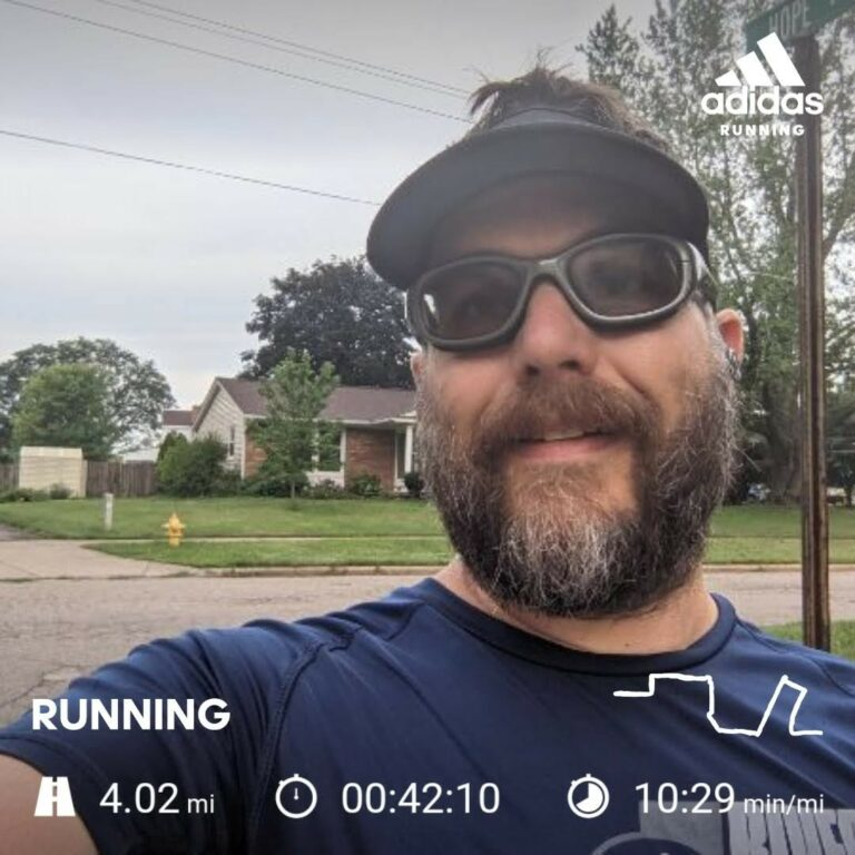 Slogging Through 4 Miles On A Humid August Morning