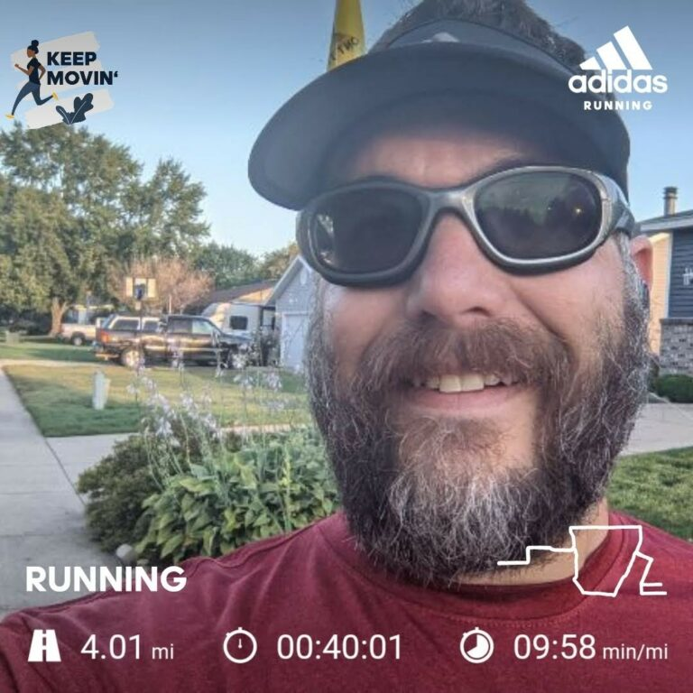 A Nice Cool Morning For A 4 Mile Training Run