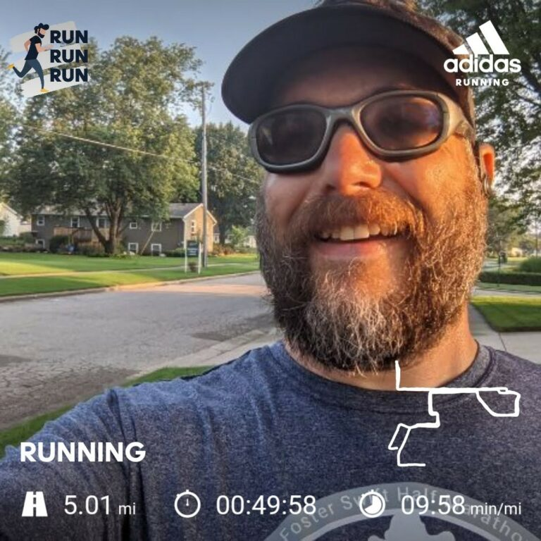 Not A PR But Beating My Last 5 Mile Run is Still A Win