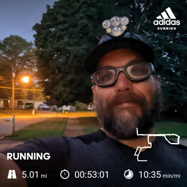 A Hard 5 Mile Tempo Run That Fell Off The Rails