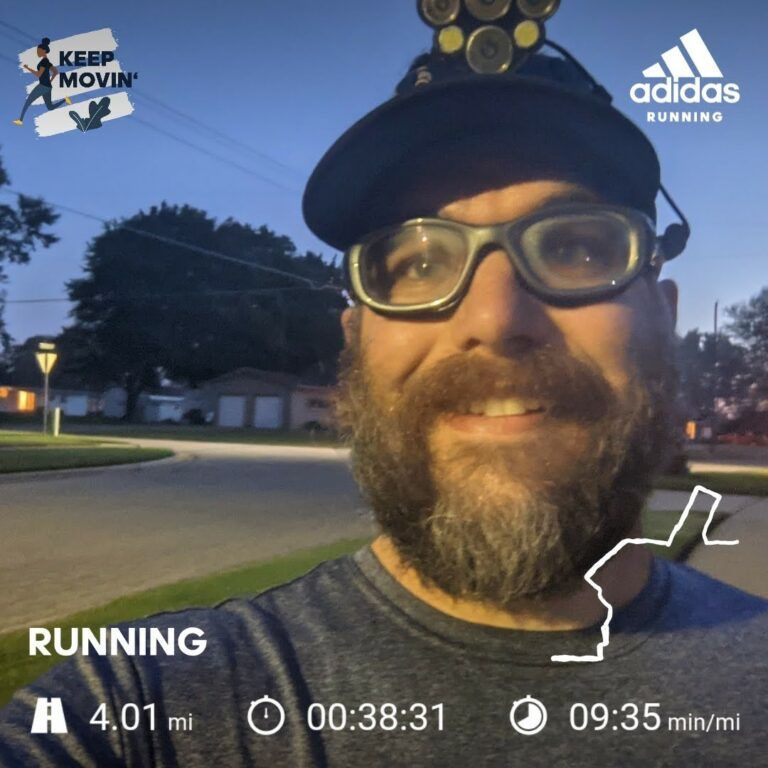 Nice to Have Some Cooler Running Weather Again to Kick Off The Week