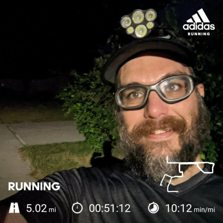 Another Interval Run That Kicked My Butt